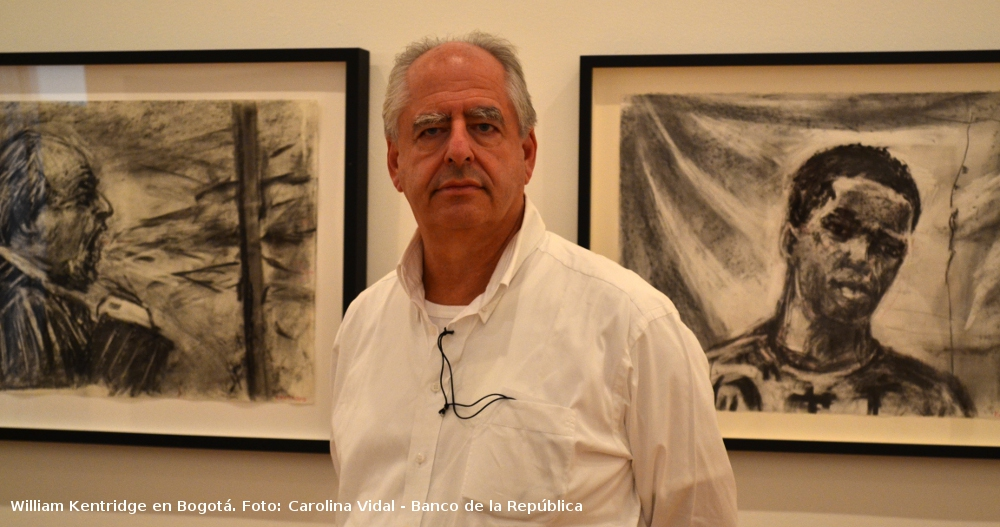 William Kentridge en Bogotá